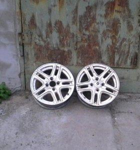 Два литых диска R14 4*100