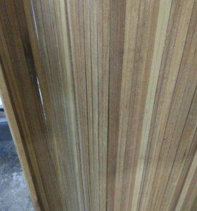 Деревянная ширма, натуральное дерево, экзотическое