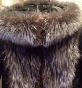 Продам куртку-трансформер(чернобурка)