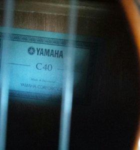 Гитара Yamaha c 40 Indonesia