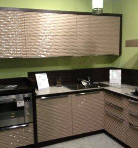 Кухни с 3D эффектом