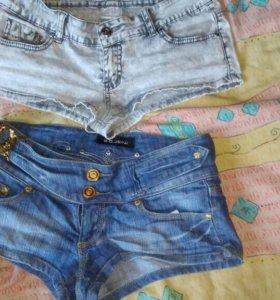 Шорты джинсовые 3шт
