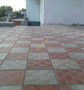 Бетонная тротуарная плитка ПАРКЕТ
