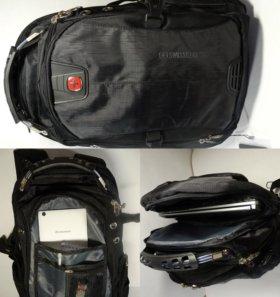 Мужской ортопедичекий рюкзак Swissgear
