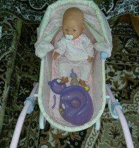 Коляска с куклой