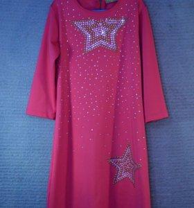розовое платье для девочки