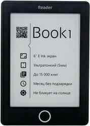 6'' Электронная книга Reader Book 1 черный
