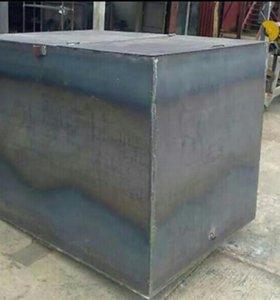 Бак металлический