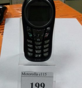 Сот тел Motololla c115