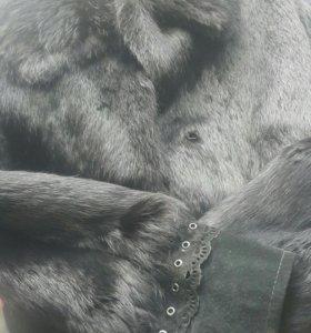 Полушубок из кролика