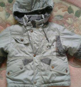 Куртка осенняя на 2 года