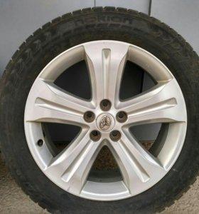 Тойота R 245/55/r19  оригинальные диски