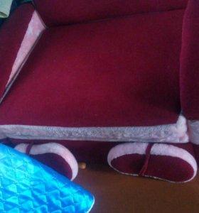 Детский выдвижной диван