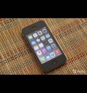 Айфон 4s 16gb чёрный