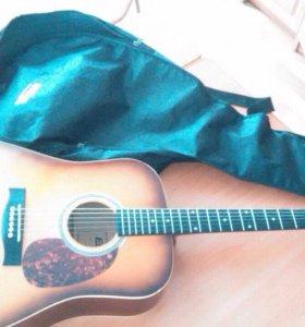 """Акустическая гитара """"Ernail"""""""