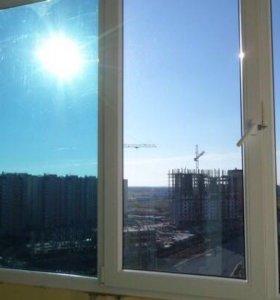 Тонировка фасадов-балконов-офисов