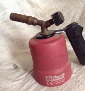 Лампа паяльная газовая