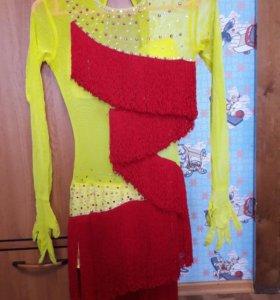 Платье для занятий бально-спортивными танцами