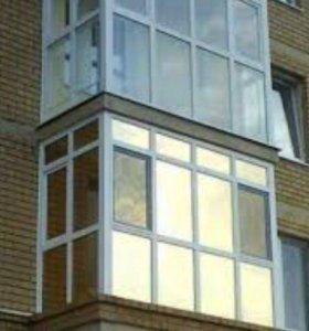 Металлопластиковые двери-окна-балконы