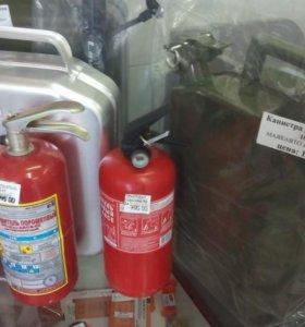 Огнетушитель порошковый с манометром