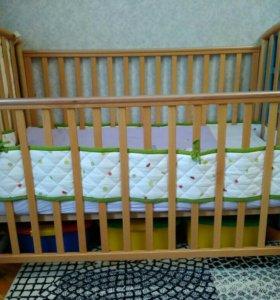 Детская кроватка Pali  + подарки