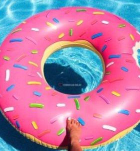 Плавательный круг пончик