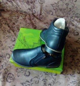 Ботинки женские новые 39-40размер