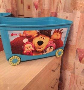 Коробка новая для игрушек