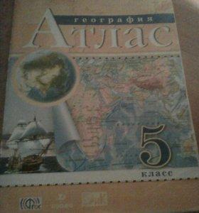 Атлас по географии 5 класс 2014 г