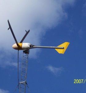 ветроэлектростанция 220-380в 15-50 квт