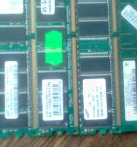 Память ddr 512 и 256 mb