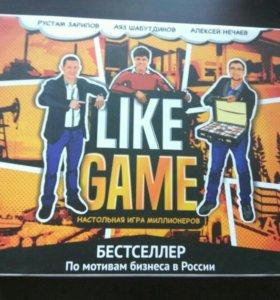 Настольная бизнес-игра миллионеров Like game