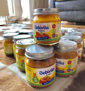 Детское питание bebivita. Цена за 23 шт