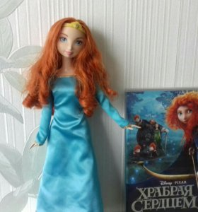 Кукла Mattel - Принцесса Мерида + диск (в подарок)