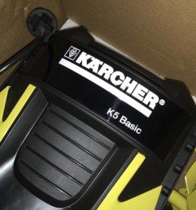Новая минимойка Karcher K5 basic без шланов и пист