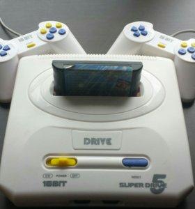 Игровая приставка 16 bit Sega Super Drive 5