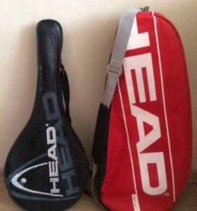 Ракетка для большого тенниса,сумка для тенниса