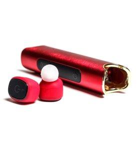 Водонепроницаемая Bluetooth беспроводная гарнитура Mettle, с микрофоном и зарядным чехлом PowerBank