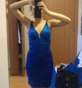 Платье синее 42/44