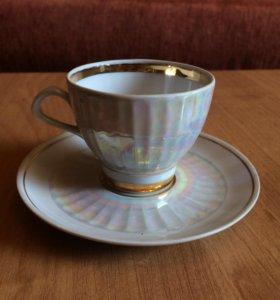 2 кофейные пары и 1 Чайная пара
