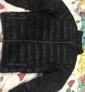 Куртка Reebok ,легкий пух 'не зимний' очень мягкий