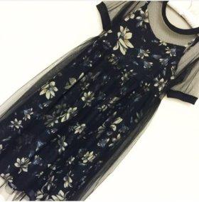 Платье сарафан 2в1