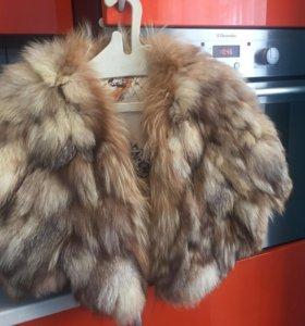 Меховая жилетка из меха лесы