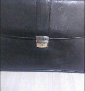 Портфель кожаный (BenLuna)