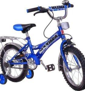Велосипед новый для мальчика от 3 до 6 лет