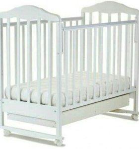 Новая красивая, удобная кроватка Березка