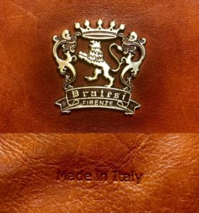 Эксклюзивная кожаная сумка из Италии