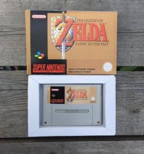 репродукция snes The Legend of Zelda