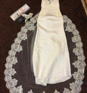 Свадебное платье и украшения