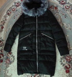Пальто на синтепоне evona 42-44, б/у.